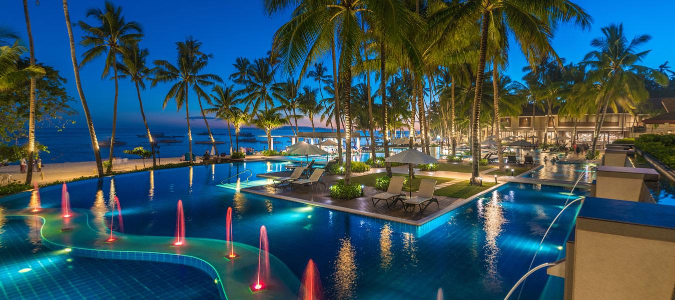 Henann resort alona beach bohol swimming pools for Swimming pool resort in gensan